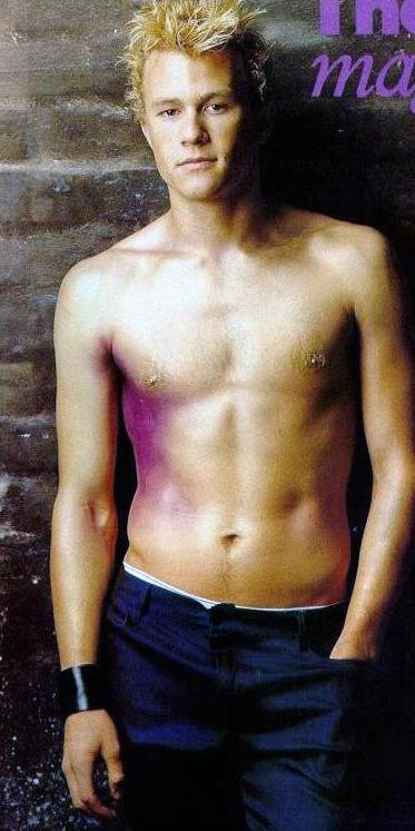 Heath ledger naked nude